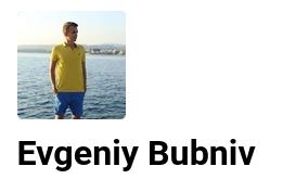 Evgeniy Bubniv
